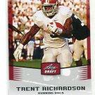 TRENT RICHARDSON 2012 Leaf Draft #49 ROOKIE Alabama Crimson Tide BROWNS RB