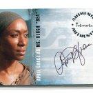 """APRIL GRACE as Ms. Klugh """"Bea"""" 2006 Inkworks LOST Auto AUTOGRAPH #A27"""