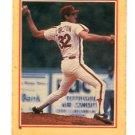 STEVE CARLTON 1984 Fleer Sticker #78 Philadelphia Phillies
