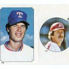 MIKE SCHMIDT 1984 Topps Sticker #101 Philadelphia Phillies