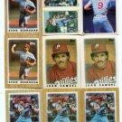 (18) Philadelphia Phillies 1986-87 Topps MINI & STICKER Lot Commons - HAS DUPES