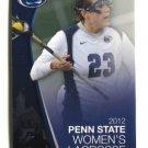 THERESA ZICHELLI 2012 Penn State Women's Lacrosse Schedule MINI