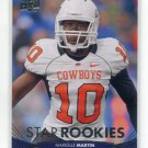 MARKELLE MARTIN 2012 Upper Deck UD Star Rookie #112 Oklahoma State Cowboys TITANS