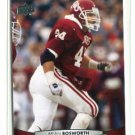 BRIAN BOSWORTH 2012 Upper Deck UD #11 Oklahoma Sooners
