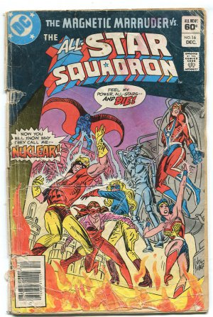 D.C. DC Comics: The Magnetic Marauder vs. The All-Star Squadron #16 Dec. 1982