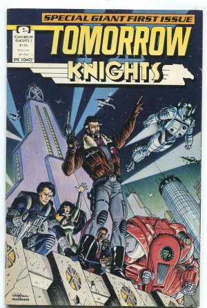 Epic Comics: Tomorrow Knights #1 June 1990