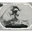 POLIO VACCINE 2008 Upper Deck UD A Piece of History #170 HISTORICAL MOMENTS