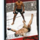 ANDERSON SILVA vs. FOREST GRIFFIN 2010 Topps UFC GOLD SP #188