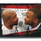 QUENTIN RAMPAGE JACKSON vs. KEITH JARDINE / RASHAD EVANS 2010 Topps UFC GOLD SP #188