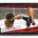 CLAY GUIDA vs. DIEGO SANCHEZ 2010 Topps UFC GOLD SP #181