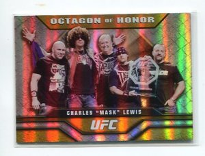 CHARLES MASK LEWIS 2010 Topps UFC Octagon of Honor INSERT #OOH-1