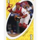 CARLOS RUIZ 2010 Uno Card Game YELLOW-1 Philadelphia Phillies
