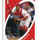 CARLOS RUIZ 2010 Uno Card Game RED-1 Philadelphia Phillies
