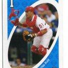 CARLOS RUIZ 2010 Uno Card Game BLUE-1 Philadelphia Phillies
