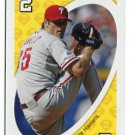 COLE HAMELS 2010 Uno Card Game YELLOW-2 Philadelphia Phillies