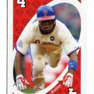 JIMMY ROLLINS 2010 Uno Card Game RED-4 Philadelphia Phillies