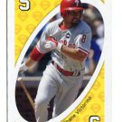 SHANE VICTORINO 2010 Uno Card Game YELLOW-5 Philadelphia Phillies HAWAII