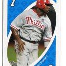 RYAN HOWARD 2010 Uno Card Game BLUE-7 Philadelphia Phillies