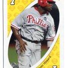 RYAN HOWARD 2010 Uno Card Game YELLOW-7 Philadelphia Phillies