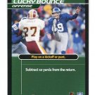 BRAD MAYNARD 2002 NFL Showdown Action Card #S07 NY Giants CHICAGO BEARS Browns PUNTER