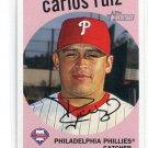 CARLOS RUIZ 2008 Topps Heritage #101 Philadelphia Phillies
