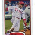 JOHN MAYBERRY Jr. 2012 Topps Series 2 II #353 Philadelphia Phillies