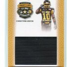 CHRISTIAN GREEN 2010 Razor Army All-American JERSEY Florida State Seminoles WR #d/150
