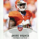 ANDRE BRANCH 2012 Leaf Young Stars #6 ROOKIE Clemson Tigers JAGUARS