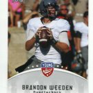 BRANDON WEEDEN 2012 Leaf Young Stars #14 ROOKIE Oklahoms State Cowboys BROWNS QB