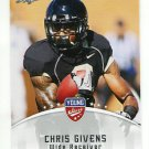CHRIS GIVENS 2012 Leaf Young Stars #18 ROOKIE Wake Forest RAMS WR
