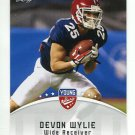 DEVON WYLIE 2012 Leaf Young Stars #30 ROOKIE Fresno State KANSAS CITY KC Chiefs