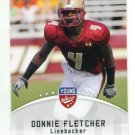 DONNIE FLETCHER 2012 Leaf Young Stars #32 ROOKIE Florida State Seminoles NY JETS