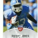 DWIGHT JONES 2012 Leaf Young Stars #37 ROOKIE North Carolina Tar Heels TEXANS WR