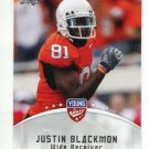 JUSTIN BLACKMON 2012 Leaf Young Stars #48 ROOKIE Oklahoma State Cowboys JAGUARS