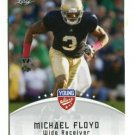 MICHAEL FLOYD 2012 Leaf Young Stars #64 ROOKIE Notre Dame Irish CARDINALS WR