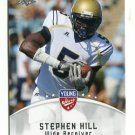 STEPHEN HILL 2012 Leaf Young Stars #82 ROOKIE Georgia Tech NEW YORK NY Jets