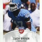 ZACH BROWN 2012 Leaf Young Stars #90 ROOKIE North Carolina Tar Heels TITANS