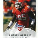 WHITNEY MERCILUS 2012 Leaf Young Stars #89 ROOKIE Illinois Illini TEXANS DE