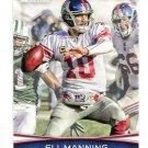 ELI MANNING 2012 Bowman #8 Ole Miss Rebels NEW YORK NY Giants QB