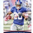 VICTOR CRUZ 2012 Bowman #42 New York NY Giants UMASS