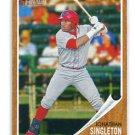 JOHN JONATHAN SINGLETON 2011 Topps Heritage Minor League #154 ROOKIE ASTROS Philadelphia Phillies