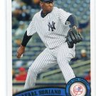 RAFAEL SORIANO 2011 Topps Update Series #US139 New York NY Yankess