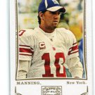 ELI MANNING 2009 Topps Mayo #87 Ole Miss Rebels NEW YORK NY Giants QB