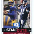 JOE FLACCO & JOSH JOHNSON 2008 Sage Hit Standouts #66 ROOKIE Ravens DELAWARE QB