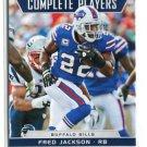 FRED JACKSON 2012 Score Complete Players #10 INSERT Buffalo Bills