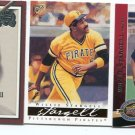 PW) WILLIE STARGELL 2000-09 3-card lot Pittsburgh Pirates HOF