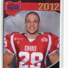 ANDRE JONES 2012 Big 33 OH High School card CINCINNATI Bearcats 3-star SAFETY