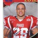 ANDRE JONES 2012 Big 33 OH High School Facsimile AUTO card CINCINNATI Bearcats