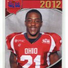De'VAN BOGARD 2012 Big 33 OH High School card OHIO STATE Buckeys 4-star SAFETY