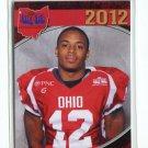 NAJEE MURRAY 2012 Big 33 OH High School card OHIO STATE Buckeyes 4-star CB